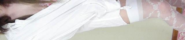 下着+白シャツ (2)