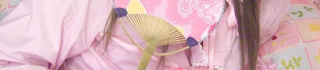 ピンク浴衣風ロリィタ (1)