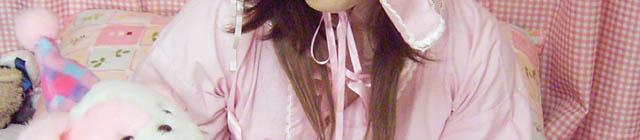 ピンク浴衣風ロリィタ (2)