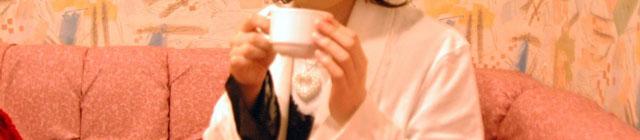 カラオケボックスでコーヒーブレイク